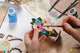 UGears Kinderbausatz Blumenstrauß
