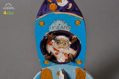 UGears Rakete Kinderbausatz