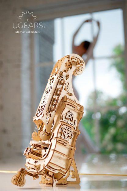 UGears Hurdy-Gurdy Musikinstrument