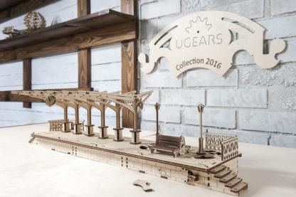 UGears Zubehör Lokomotive: Bahnhof