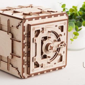 UGears Tresor / Safe mit Zahlenschloss