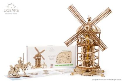 UGears Windmühle Don Quijote